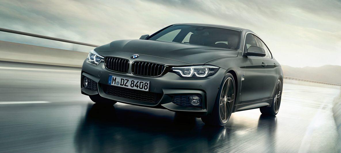 BMW 4er Gran Coupé, Dreiviertel Heckschuss