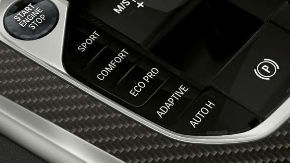 BMW X6 Fahrerlebnisschalter