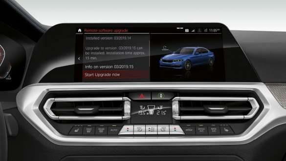 BMW 3er Limousine Remote Software Upgrade
